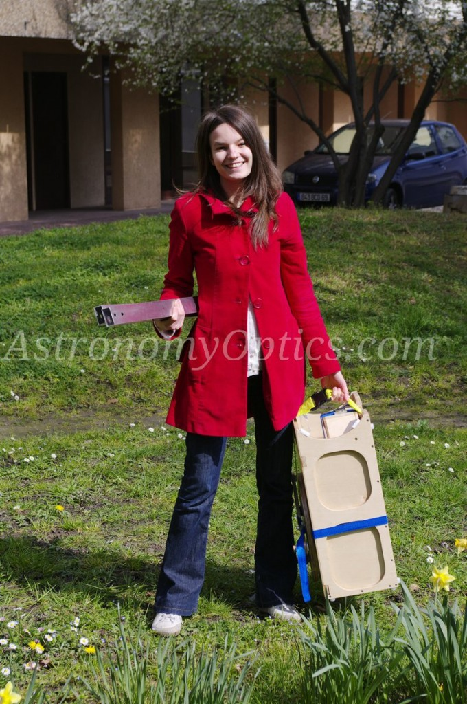 Carrying the telescope 2